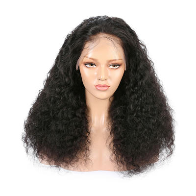 Parksonhair Kinky Straight Virgin Brazilian Remy Human Hair Full Lace Wig