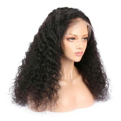 Parksonhair Kinky Straight 100 Human Lace Front Wigs For  Brazilian women