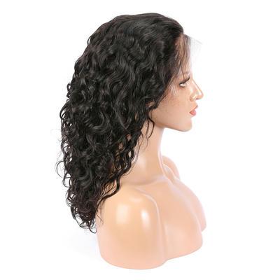 Parksonhair Natural Wavy Lace Front Wigs Brazilian Human Hair