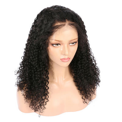 Parksonhair Exotic Curly Natural Looking Lace Front Wigs