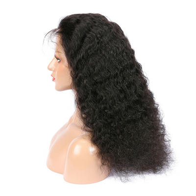 Parksonhair Kinky Straight 360 Lace Closure Wig with Baby Hair